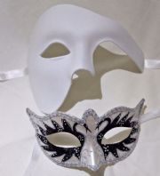 White & Black Masks